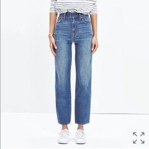 Madewell Westside Jean Size 24